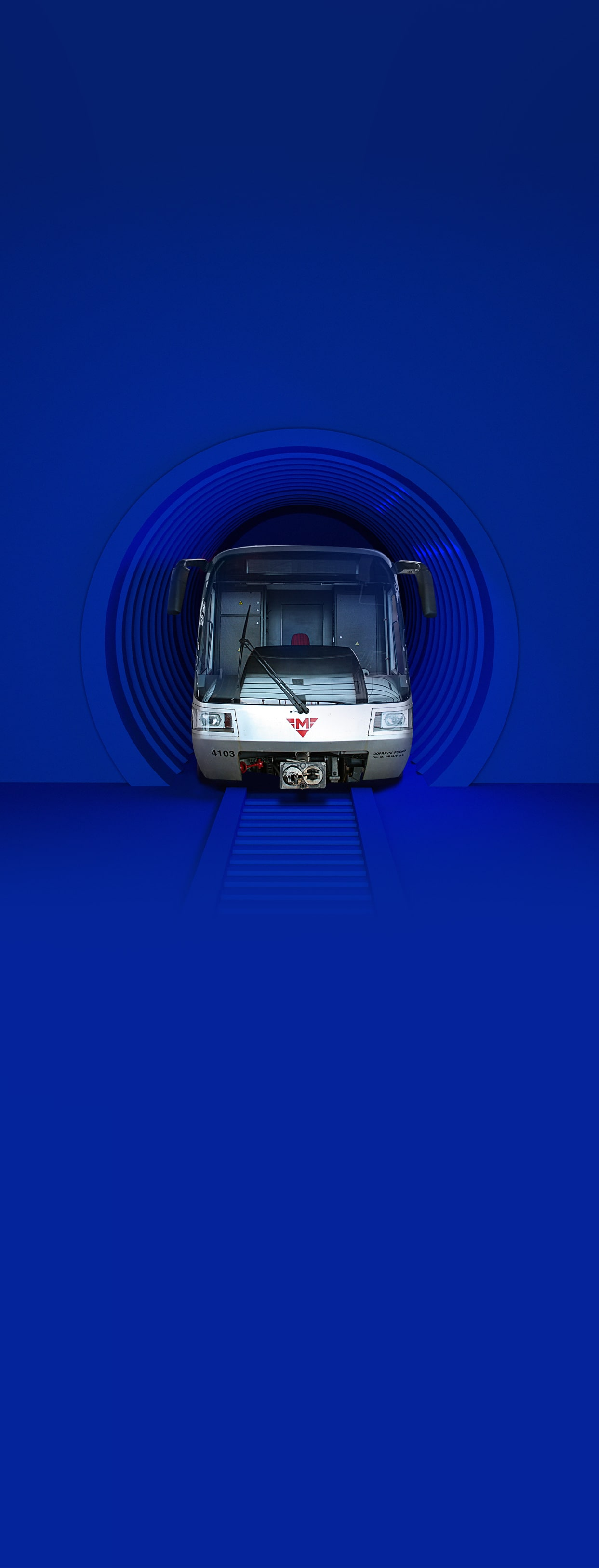 Take a ride on the Prague metro along the future D line